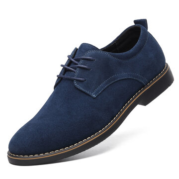 Men British Style Synthetic Suede Formal Shoes