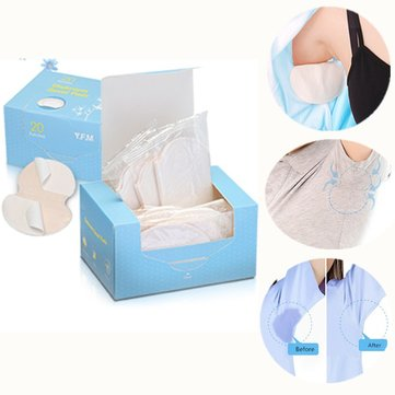 20 Pairs Underarm Sweat Absorption Pad