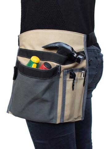 Canvas Tool Bag Square Multi-function Tool Pocket Plumber Tool Storage Bag
