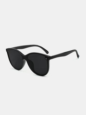 Mens Womens Square Polarized PC Sunglasses