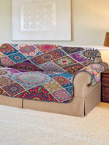 3D Digitaldruck Pet Sofa Cover Böhmisches Quadrat Pet Mat