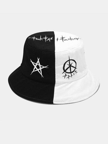 Women & Men Graffiti Bucket Hat Street Trend Hip Hop Fisherman Hat