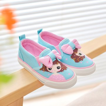 Scarpe da ragazza Lovely Cartoon Bowknot