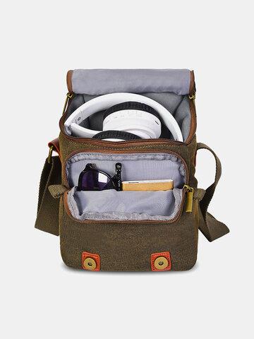 Digital Camera Bag Outdoor Canva Shoulder Bag