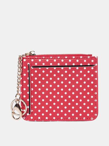 Women Polka Dot Cute Card Holder Wallet