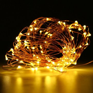 10M 100 LED Fairy String Light Christmas, Multicolor blue warm white white