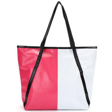 حقيبة يد أنيقة اللون بو الجلود حقيبة يد