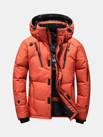 Quilted Insulated Down Parka Coats