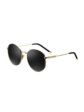 Women's Metal Polarized Sunglasses