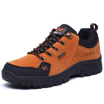 Sapatos de caminhada de tamanho grande homens deslizamento ao ar livre Resiatnt