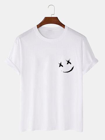 100% Cotton Grimace Print T-Shirts