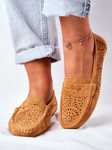 Large Size Breathable Loafers Shoes