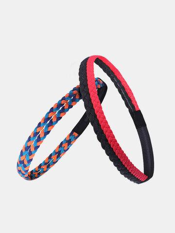 Fitness Braid Yoga Headband