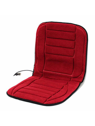 12V Winter Car Seat Heated Cushion Heating Warmer Pad With Hi/Lo Adjustable Switch Chair Cover