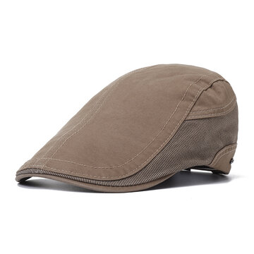 Mens Cotton Beret Cap