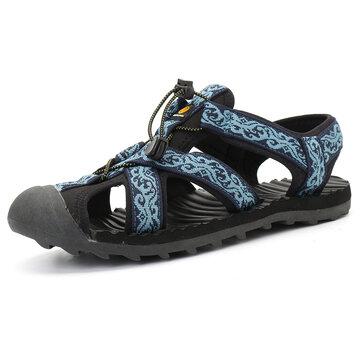 Sandali da uomo all'aperto con chiusura a zip