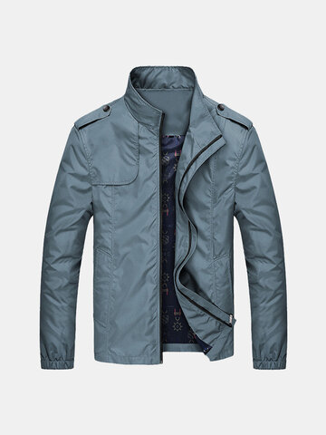 Mens Fashion Slim Jacke