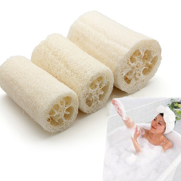 Natural Multi-function Loofah Luffa Loofa Bath Shower Cleansing Sponge Body Spa Dish Cloth