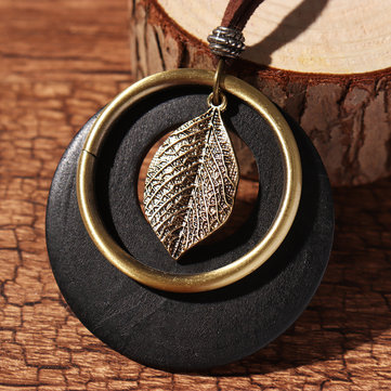 Ethnic Leaves Men Necklace