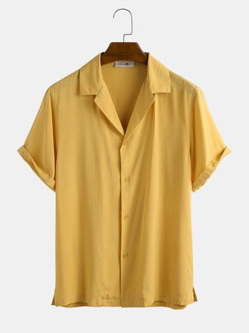 Light Breathable Solid Color Shirt