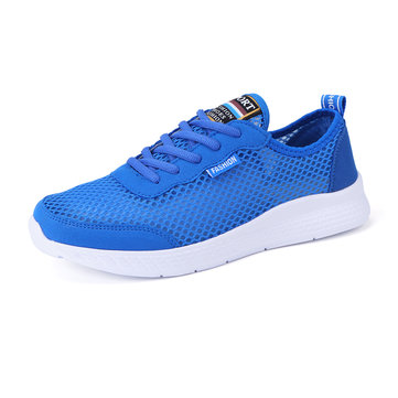 Men Mesh Fabric Casual Walking Shoes