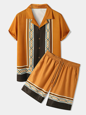 Geometric Ethnic Style Outfits