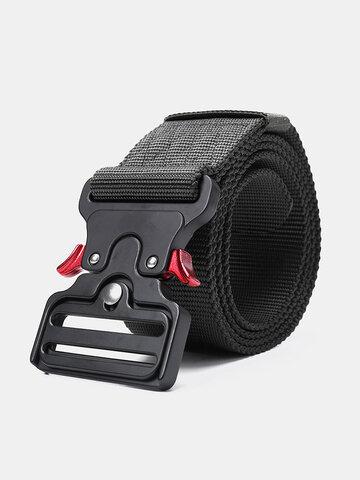 Nylon Waist Leisure Belts Zinc Alloy Tactical Belt