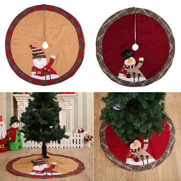 105cm Red Christmas Tree Skirt