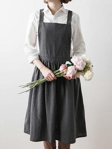 Плиссированная юбка скандинавский передник