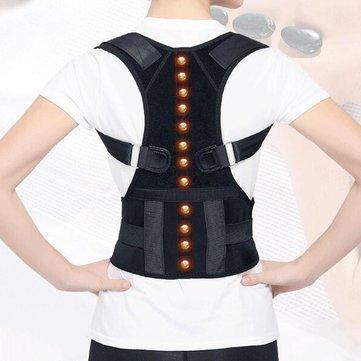 Correcteur de posture magnétique ajustable