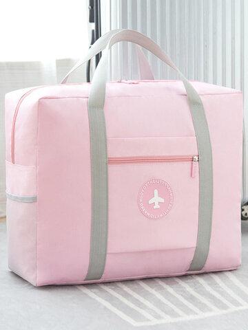 5 Colors Waterproof Oxford Travel Luggage Storage Bag