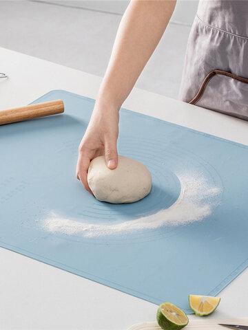 Cocina Silicona Cojín de amasar Cojín para hornear en el hogar herramientas