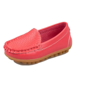 Unisex Children Casual Flats Moccasins Soft Sole Slip On Loafers