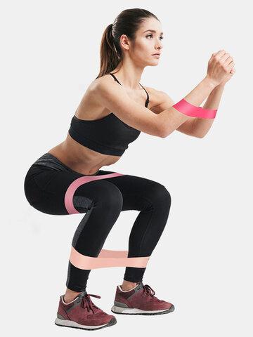 5Pcs/Set Yoga Elastic Bands