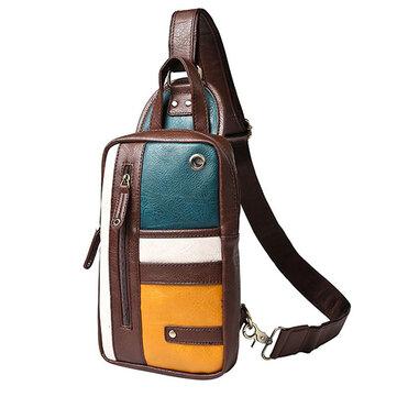 Saco de peito de ombro Casual vintage Sling Bag Crossbody Bag