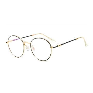 Herren Frauen Ultraleichte Optischer Reflektorspiegel Strahlungsschutz Brille Farblose Linsen Gläser