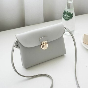 Women Simple Mobile Phone Bag Key Case Crossbody Bag