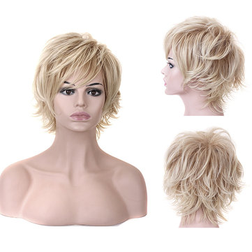 Stylish Highlight Synthetic Wig