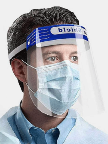 10/1 Pieces Protective Mask New Adjustment Stretch Protective