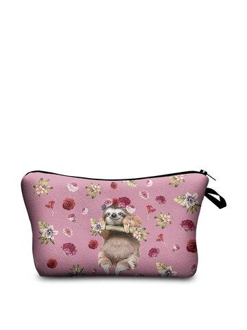 Women Travel Animal Prints Cosmetic bag