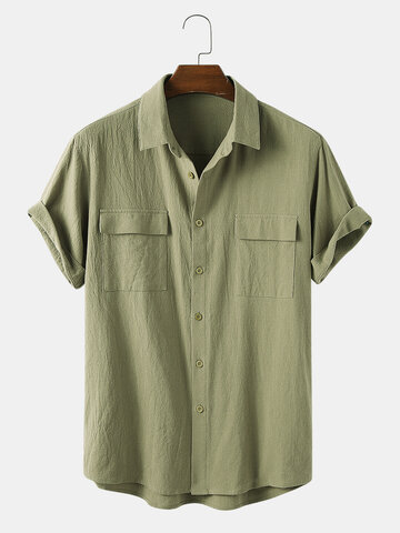 100% Cotton Double Pocket Shirt