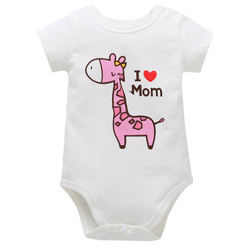 Baby Cotton Romper For 0-24M