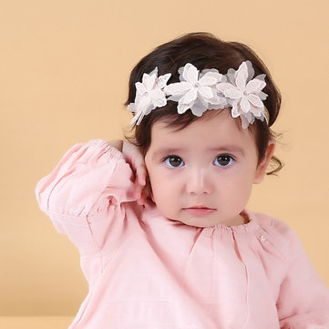 Flower Girls Hairband For 0-3 Years