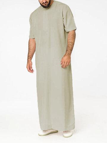 Short Sleeve Loungewear Robe