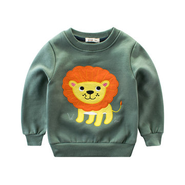 Cartoon Printed Boys Sweatshirts For 2Y-12Y