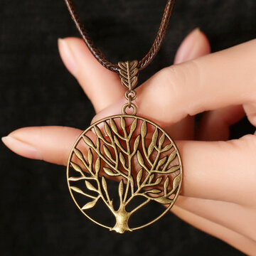 Vintage Life Tree Necklace