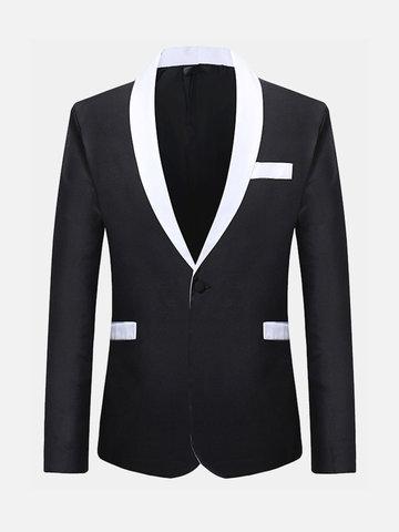 Formal Fashion Long Sleeve Thin Blazer Suit