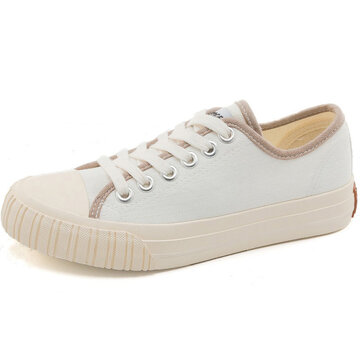 Retro Lace Up Sneakers Canves Shoes