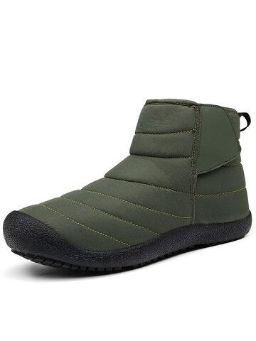 Men Waterproof Warm Lining Ankle Boots