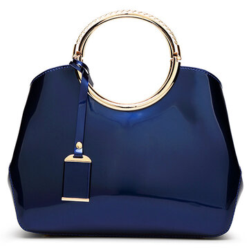 Bright PU Leather Bag